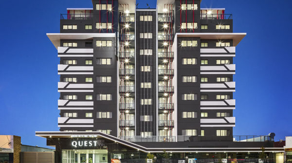 Construction underway at Quest Woolloongabba