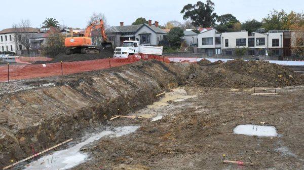 Ballarat's station precinct starts to take shape