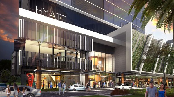 Global hotel chain Hyatt unveils plans for first Brisbane hotel, at South City Square Woolloongabba